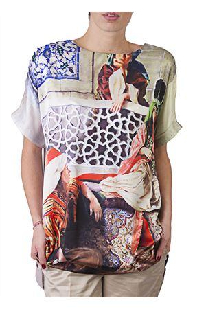 Maxi t-shirt Laboratorio Capri | 20000031 | LAB68MAXITSHIRT