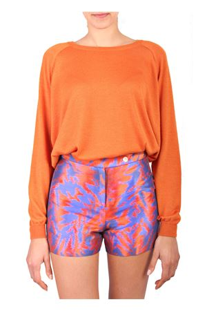 Silk short Laboratorio Capri | 9 | LAB94ARANCIOBLU