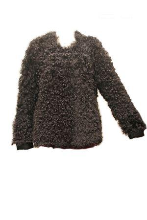 Cappotto in pelliccia di montone  foderato in pelle Laboratorio Capri | 3 | RIZOLAMBMONTONE