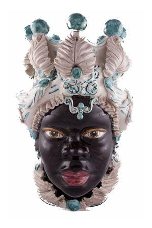 Vaso decorativo - testa di donna Sea Gull Capri | 20000025 | AFRICANODVERDE