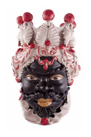 Vaso decorativo - testa di uomo Sea Gull Capri | 20000025 | AFRICANOUROSSO