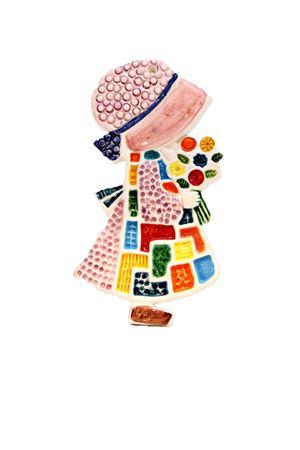 Mattonella decorativa Holly Hobbie Sea Gull Capri | 20000025 | HOLLY HOBBYHOLLYROSA