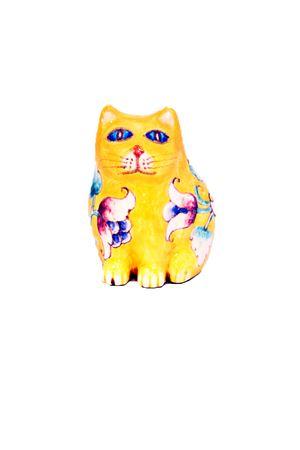 Ceramic Cat Sea Gull Capri | 20000025 | MICIOMICIO GIALLO