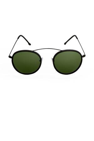 Sunglasses Spektre | 53 | MET-RO2BLACKDEEPGREENMIRROR
