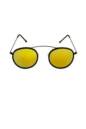 Sunglasses Spektre | 53 | MET-RO2BLACKGOLDMIRROR