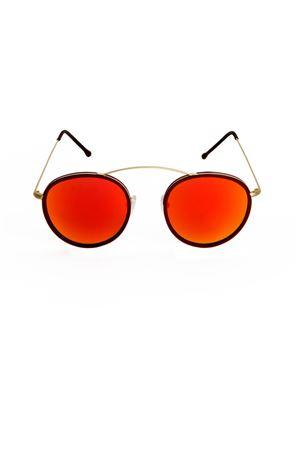 Sunglasses Spektre | 53 | MET-RO2GOLDBROWNORANGEMIRROR