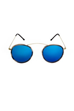 Sunglasses Spektre | 53 | MET-RO2GOLDHAVANABLUEMIRROR