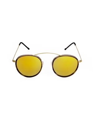 Sunglasses Spektre | 53 | MET-RO2GOLDHAVANAGOLDMIRROR