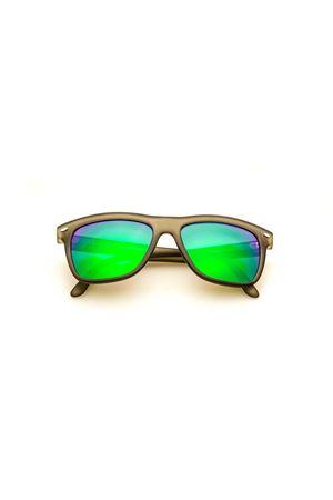 Sunglasses Spektre | 53 | NULLA ETHICA SINE AESTETICAMATTEGREYGREENLENS