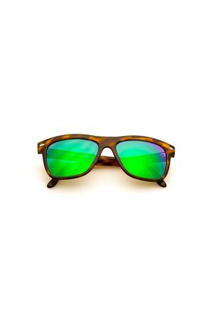 Sunglasses Spektre | 53 | NULLA ETHICA SINE AESTETICAMATTETORTOISESHELLGREENLENS