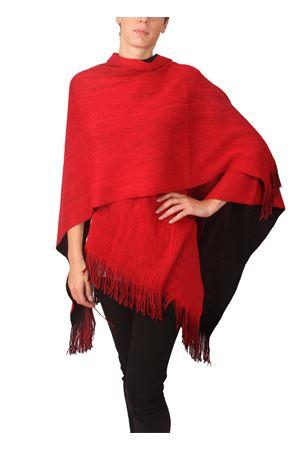 oversize reversible shawl Aram V Capri | 1375490853 | SEFFW16ROSSO