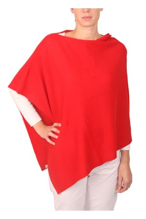 Wool and cashmere poncho Art Tricot | 52 | 2016111ROSSO