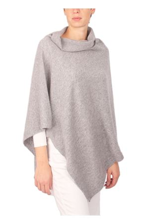 Wool and cashmere poncho Art Tricot | 52 | 2016115GRIGIO
