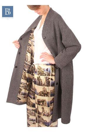 Giacca in lana Cartoline di Capri Laboratorio Capri | 3 | CAPPOTTO CARTOLINECARTOLINE