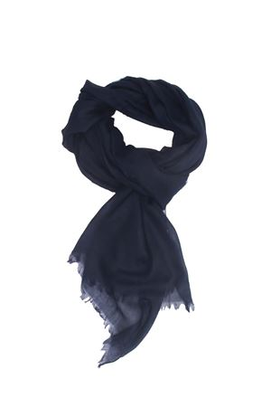 Cashmere and silk blue scarf Colori Di Capri | 77 | COLCASHSILKBLU
