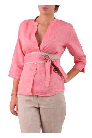 Camicia in lino Colori Di Capri | 6 | CAMICIA COREANA COLORFRAGOLA