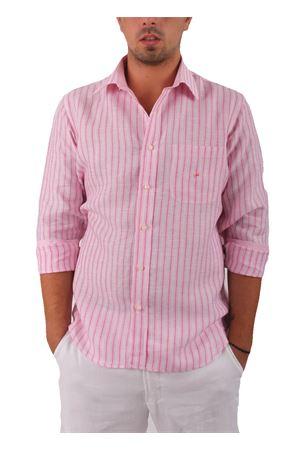Camicia in lino Colori Di Capri | 6 | CAMICIALINO UROSA FUXIA