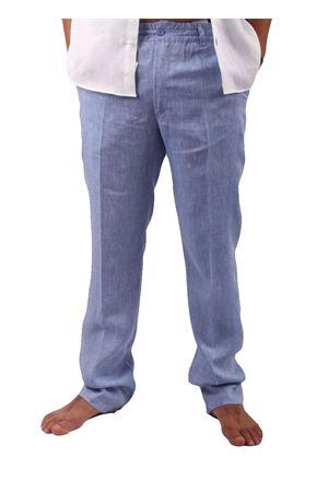 Linen trousers Colori Di Capri | 9 | PANTALINO UDENIM