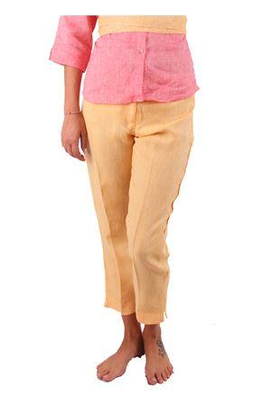 Pantaloni in lino Colori Di Capri | 9 | PANTALONI CAPRI COLORIARANCIO
