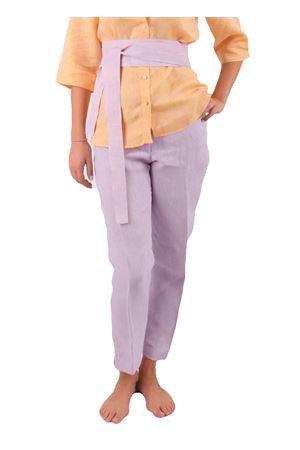 Pantaloni in lino Colori Di Capri | 9 | PANTALONI CAPRI COLORILILLA