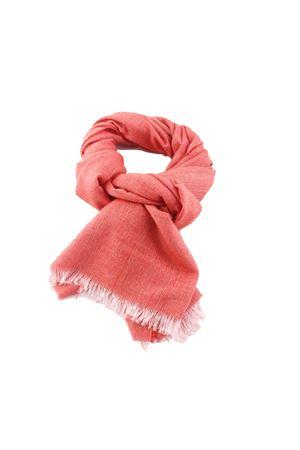Sciarpa in cashemere seta rossa Colori Di Capri | 77 | SCARFCACHEMIREROSSO