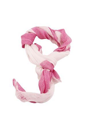 Customizable linen scarf Colori Di Capri | 77 | SCIARPA PERSONALIZZABILEBIANCA RIGA FUXIA