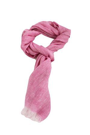 Linen scarf Colori Di Capri | 77 | STRIPESCARFROSA/FUXIA
