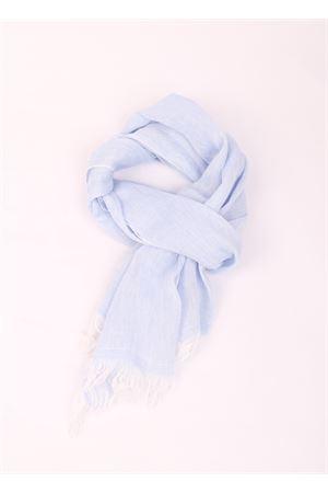 Grey linen scarf Colori Di Capri | 77 | TU SCARFCELESTE