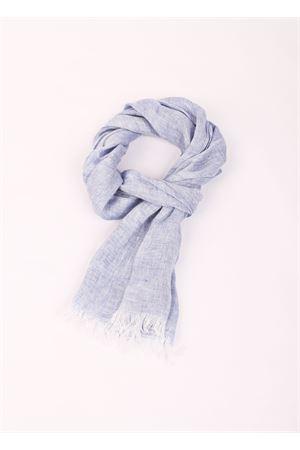 Grey linen scarf Colori Di Capri | 77 | TU SCARFDENIM