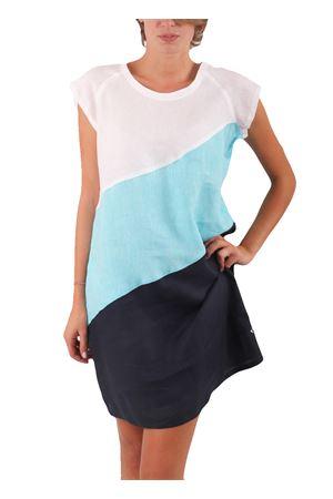 Vestito in lino Colori Di Capri | 5032262 | VESTITO TRI-COLORTRICOLORE