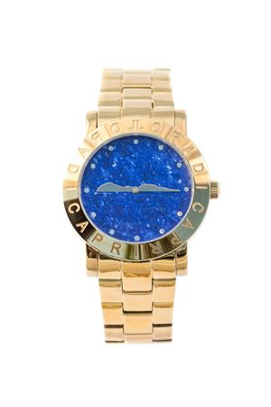 Gold Capri Island watch L