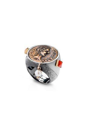 Handmade Silver ring Provident Capri Angela Puttini Gioielli | 5032250 | AN226EARGENTO