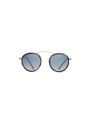 Occhiali da sole modello Mte-ro 2 con lente flat Spektre | 53 | MET-RO2 FLATAZZURRO