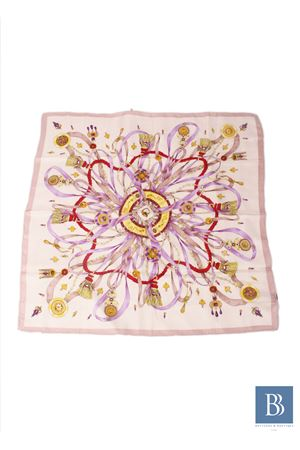 Pure italian silk sacrf with tassels Capri Chic   -709280361   NAPPINEBEIGE