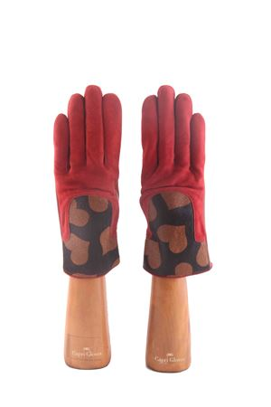 Guanti rossi in camoscio Capri Gloves | 34 | CA2306RED