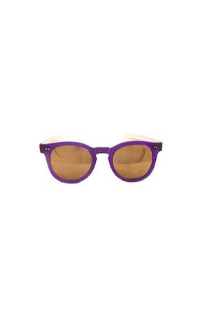Occhiali da sole artigianali viola Capri People | 53 | MARE VIVIOLA