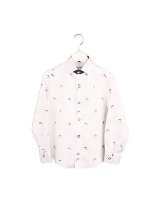 Linen baby shirt Colori Di Capri | 6 | BABY DOLPHINBIANCO