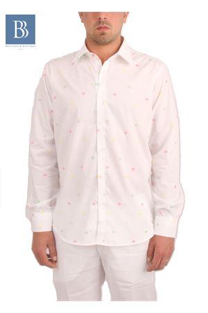 Camicia da uomo in cotone Colori Di Capri | 6 | BUBBLESBIANCO