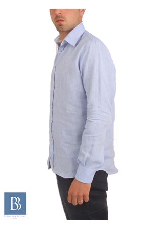 Camicia da uomo in lino Colori Di Capri | 6 | CLASSICCELESTE