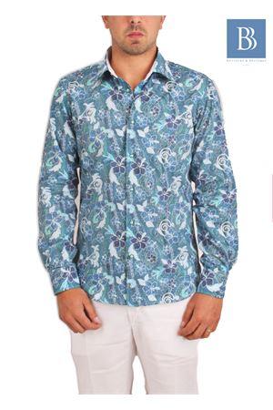 Camicia da uomo in cotone Colori Di Capri | 6 | HAWAIIBLU