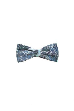 Cotton blue bow tie Colori Di Capri | 20000037 | PAP07BLU