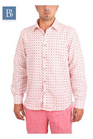 Camicia da uomo in lino Colori Di Capri | 6 | ROVESCIOROSSO