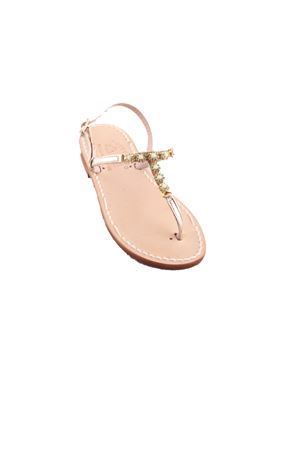 Sandali gioiello da bambina Cuccurullo | 5032256 | BABY GIOIELLOORO