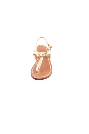 Gold sandals for baby Cuccurullo | 5032256 | BABY GOLDORO