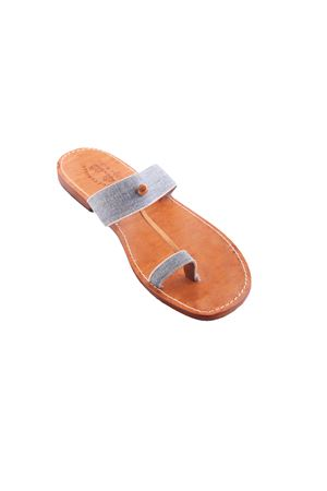 Capri Sandals for man Cuccurullo | 5032256 | CUC DENIMAZZURRO