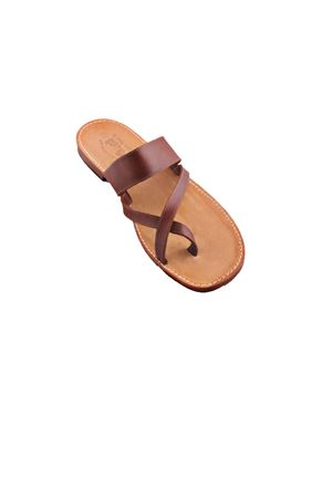Capri Sandals for man Cuccurullo | 5032256 | CUC DITOMARRONE