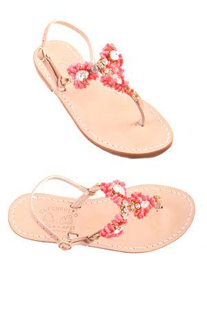 Tipico sandalo caprese Cuccurullo | 5032256 | CUC GAIAROSA