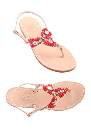 Handmade Capri sandal Cuccurullo | 5032256 | CUC GAIAROSSO
