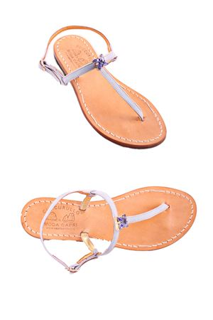 Handmade Capri sandals Cuccurullo | 5032256 | CUC IRMAAZZURRO