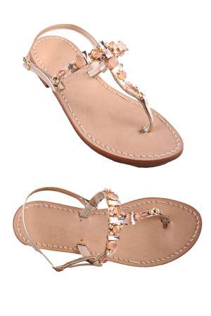Sandali capresi realizzati a mano Cuccurullo | 5032256 | CUC SOFIAROSA